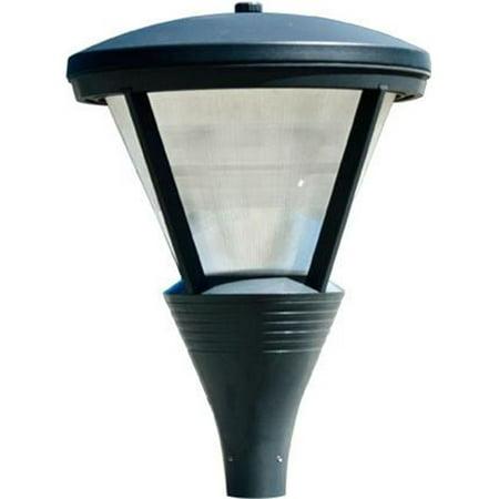 Dabmar Lighting Gm586 B Mt Powder Coated Cast Aluminum Architectural Post Top Light Fixture Black 34 50 X 25 In