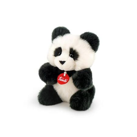 Trudi Panda White And Black Soft Fluffy Stuffed Animal Plush Toy