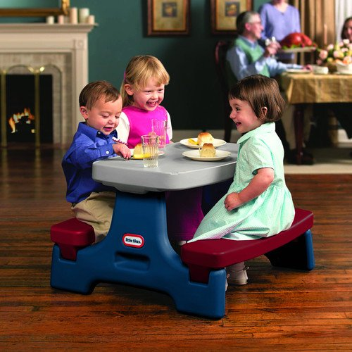 Little Tikes Junior Picnic Table : Little tikes endless adventures easy store jr picnic