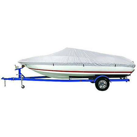 Boston Whaler Boat Cover - Harbor Master 150-Denier Polyester Boat Cover, Silver