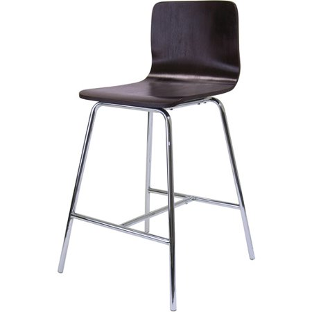 Enjoyable Winsome Wood Archer 24 Inch Counter Stool W Chrome Leg Evergreenethics Interior Chair Design Evergreenethicsorg
