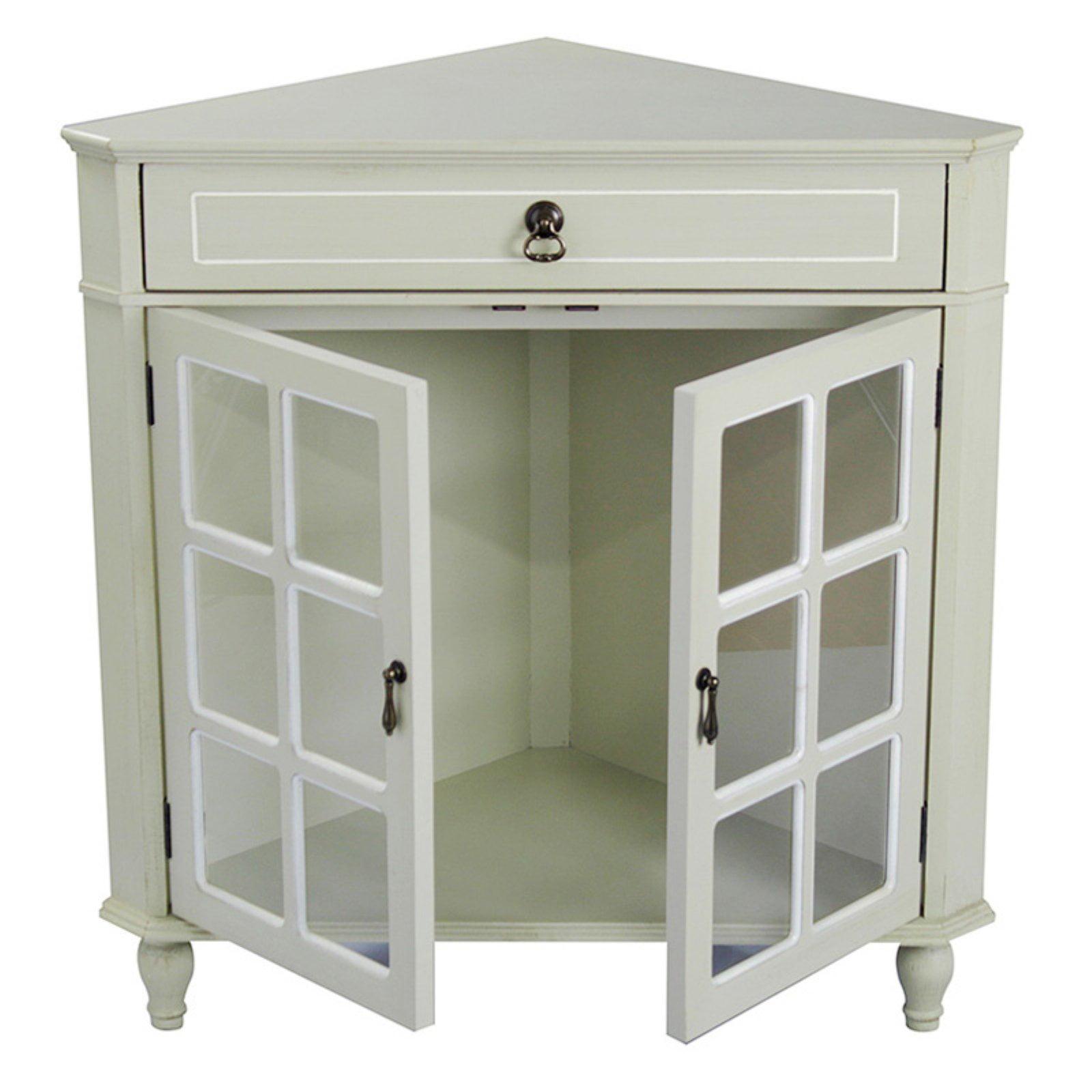 Heather Ann Creations W191119 1229 Vivian 1 Drawer 2 Door Corner