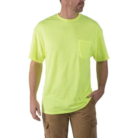 Big And Tall Word T-shirt - Big Men's Short Sleeve Pocket Tee, 2-Pack