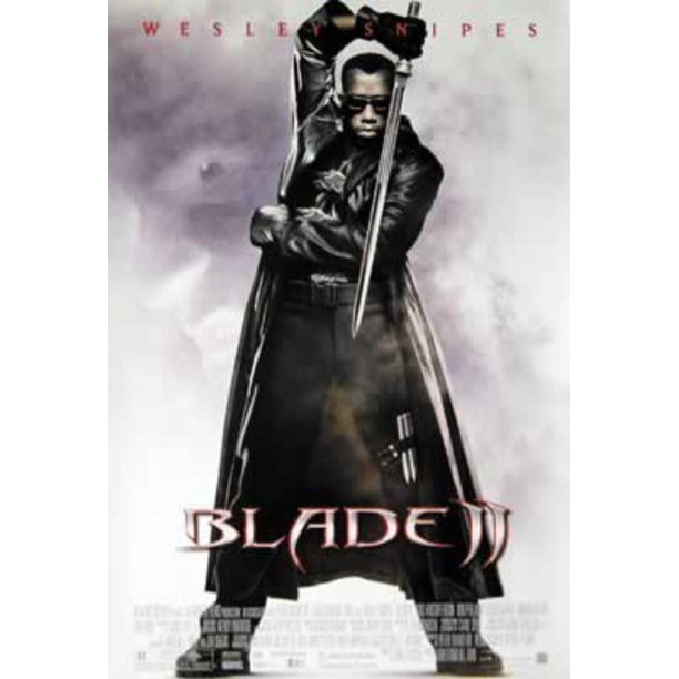 Blade Ii Movie Poster Wesley Snipes Size 27 X 40 By Poster By Poster Stop Online Usa Walmart Com Walmart Com
