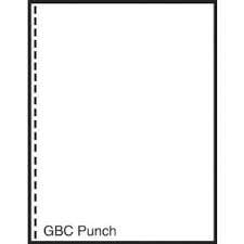 Gbc Photo (Alliance Laser Cut Sheet Paper,8.5x11,GBC Punched 19 Hole,2500)