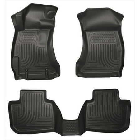 Husky Liner 99801 Weatherbeater Series Thermoplastic Olefin Black Front & 2Nd Seat Floor Liners - image 2 of 2