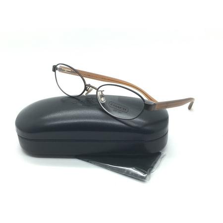 Coach Women Brown Rectangular New Eyeglasses HC 5032 Randi 9076 52 -