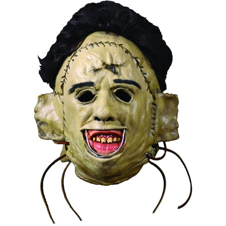 The Texas Chainsaw Massacre Adult Leatherface 1974 Killing Mask Halloween Costume Accessory](Halloween Temple Texas)