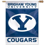 BYU Brigham Young University Vertical Outdoor House Flag
