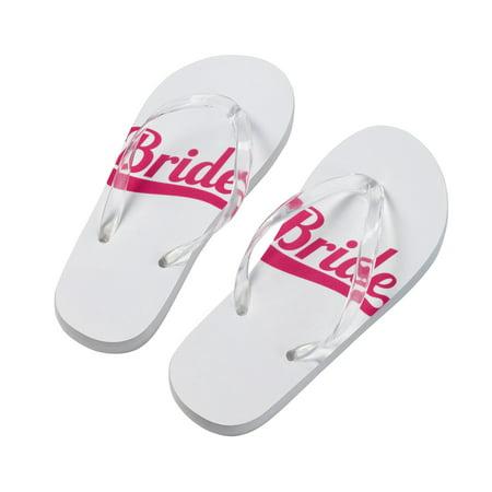Lillian Rose Bride Flip Flops -