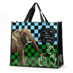HOOTS N HOWLERS - ELEPHANT TOTE BAG