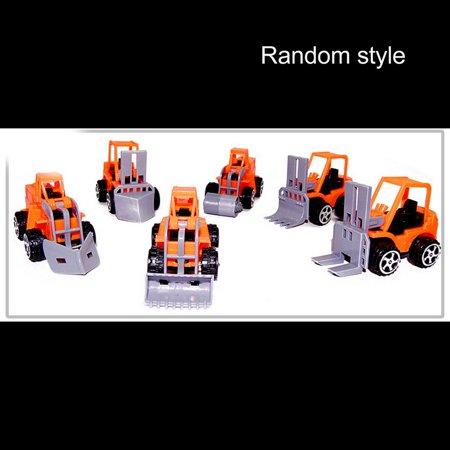 Pull Back Car Mini Car Forklift Toy Car Model Excavator - image 1 de 6
