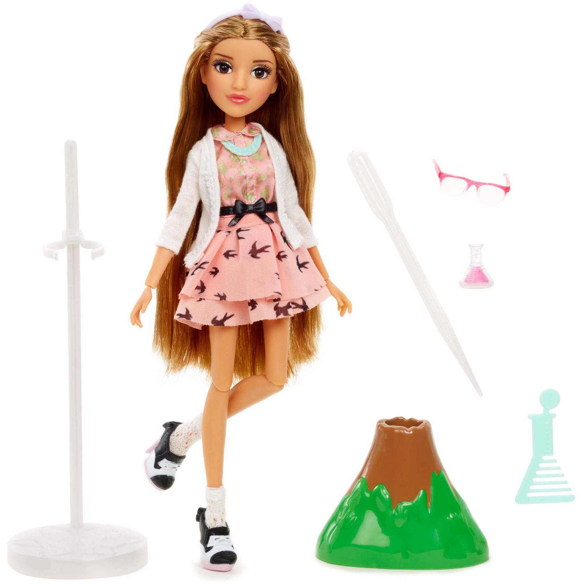 Project Mc2 Doll with Experiment, Adrienne's Volcano