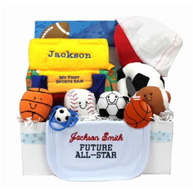 Baby Gift Idea ALLSTARB Personalized Future All Star Gift Box - Boy