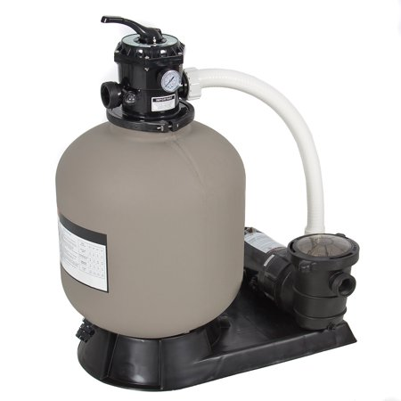 Best Swimming Pool Filter - Best Choice Products 4500GPH Above Ground Swimming Pool Pump System w/ Sand Filter, 1.0HP