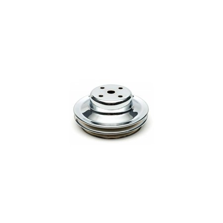 Eckler's Premier  Products 50207625 Chevelle or Malibu  Water Pump Pulley Big Block Double Groove Chrome 72