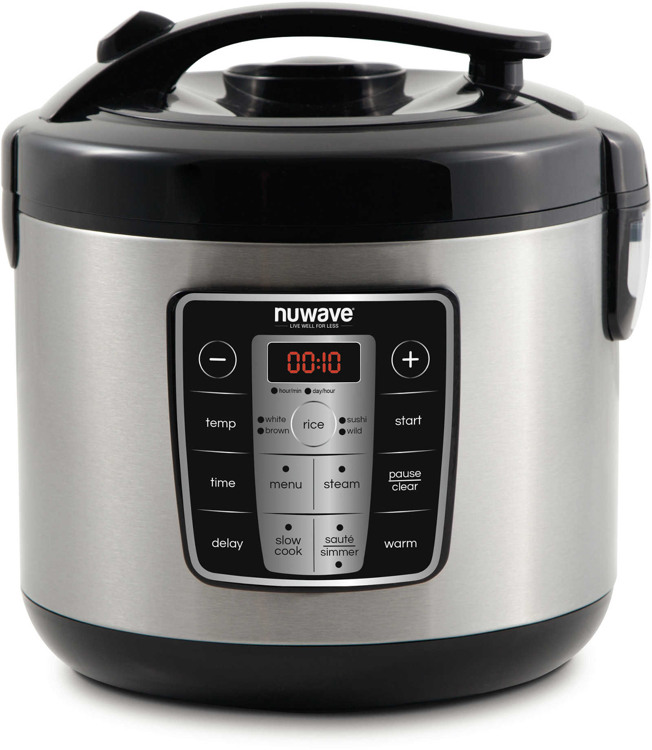 Black Westinghouse WRC201B Small Appliance 14-Cup Rice Cooker