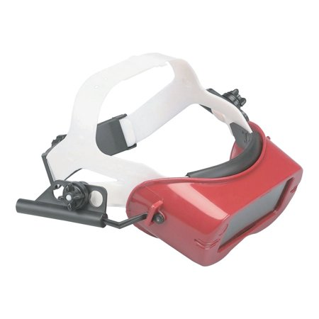 V100 WA Series IRUV Cutting Goggles, IR/UV 5.0/Red, Shallow Fixed Front