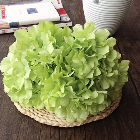 Decor Faux Artificial Silk Floral Flower Bouquet Hydrangea Party Decor Craft ()