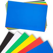 """12 Pack 20x30"""" Foam Board, 3/16"""" Thick Core Colorful Craft Foam Sheets for Craft Projects & Kids DIY Projects"""