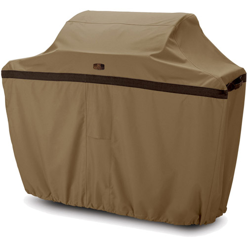"Classic Accessories Hickory BBQ Grill Cover, Up to 58"" Wide, Medium"