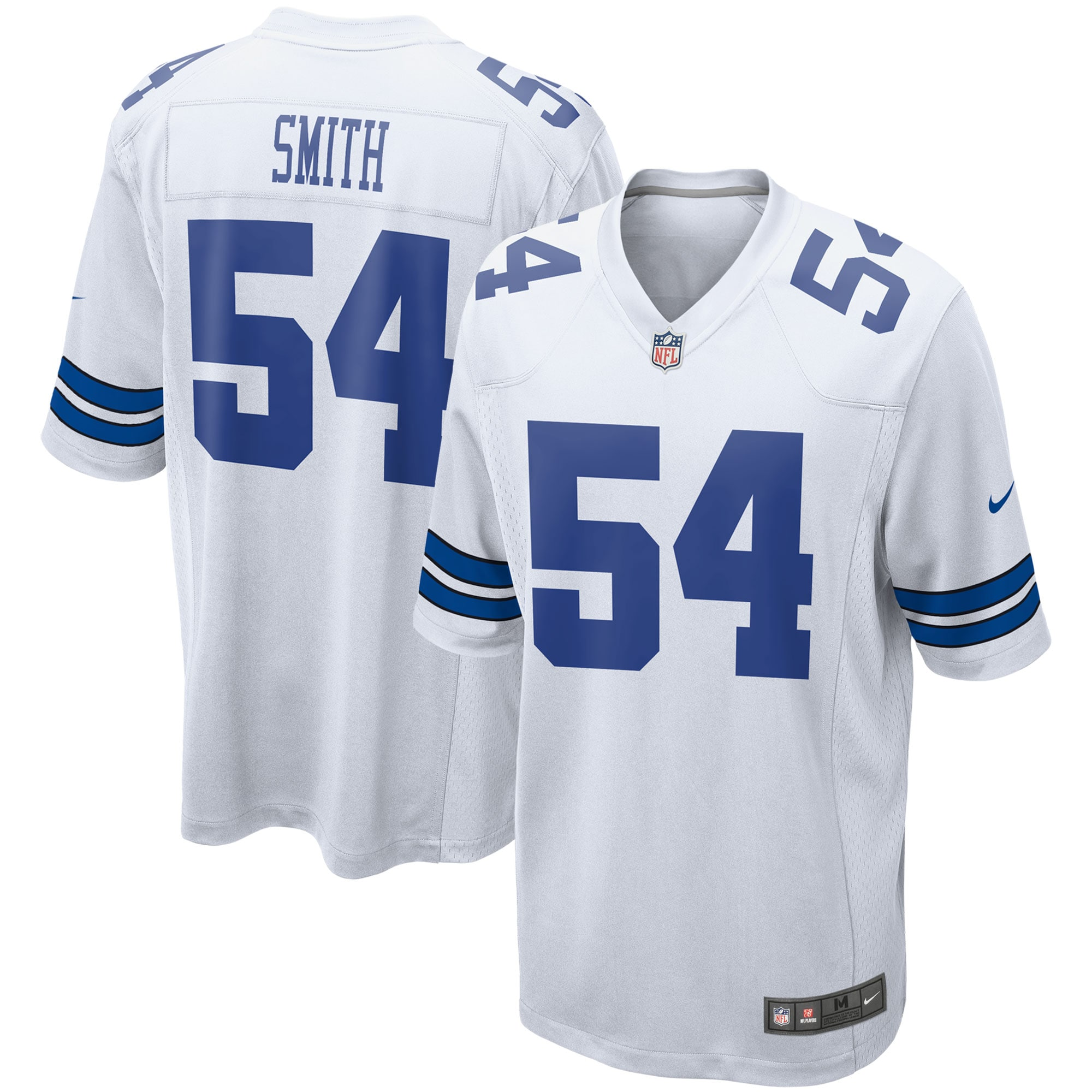 Jaylon Smith Dallas Cowboys Nike Game Team Jersey - White - Walmart.com