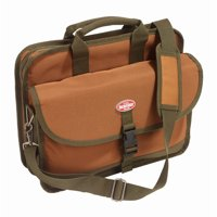 62100 16 X 6 X 12.5 Green & Brown Contractors Briefcase
