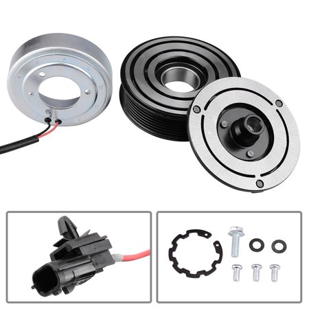 Remanufactured A/C Compressor Clutch Assembly Kit Engine for 2009-2013 Nissan Murano 3.5L (Bolt Catch Assembly Kit)