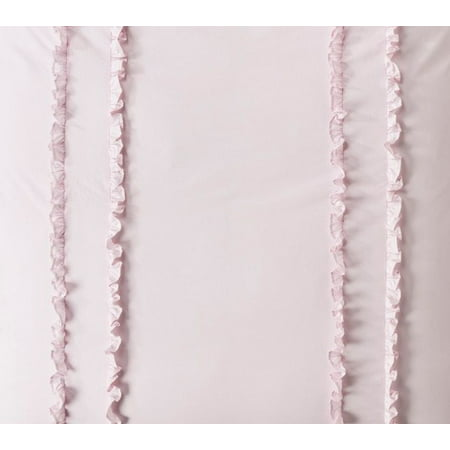 Primrose Duvet (Simply Shabby Chic Ruffled Pink 2 Pc Duvet Cover Set Twin Size Bedding)