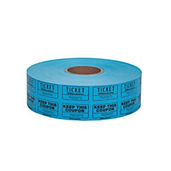 Office Depot Ticket Roll, Double Coupon, Assorted, Roll Of 2,000, No Color Choice, 215000247 (Office Depot Tickets)