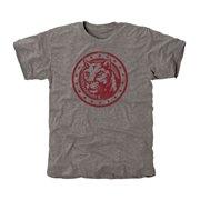 Charleston Cougars Auxiliary Logo Tri-Blend T-Shirt - Gray