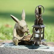 San Pacific International Booklover Rabbit Garden Lantern