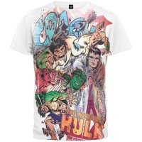 Incredible Hulk - Transformation Collage All-over Soft T-Shirt