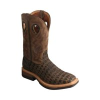 Men's Twisted X MLCA003 Lightweight Alloy Toe Cowboy Work Boot