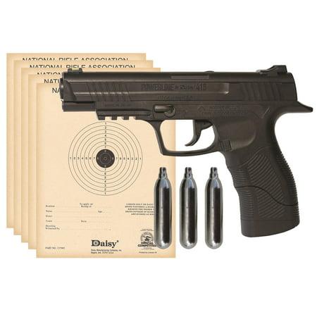 Daisy 415 Kit (CO2 pistol, shooting glasses, BB's, CO2 cartridges)
