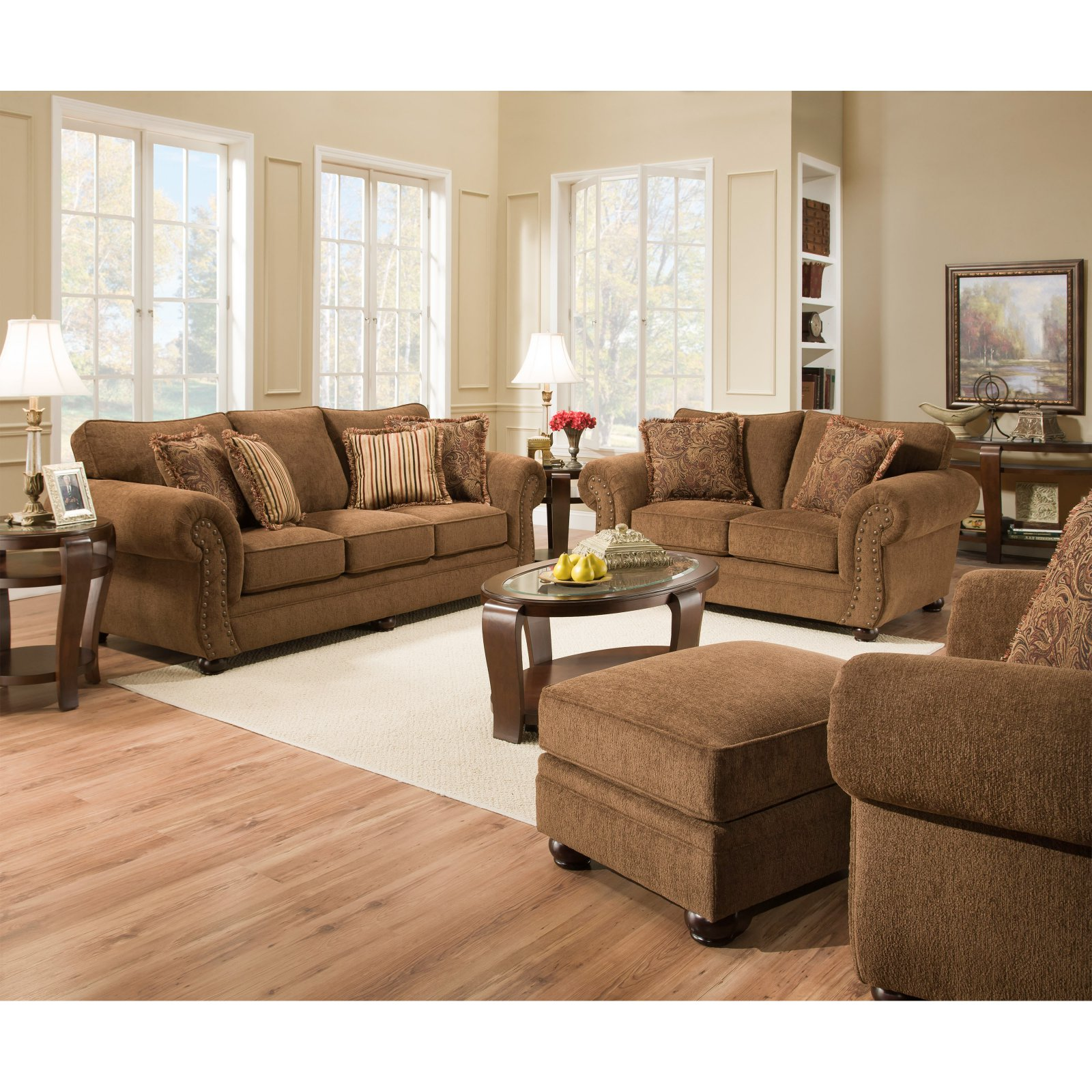 Simmons Upholstery Outback Chocolate Seating