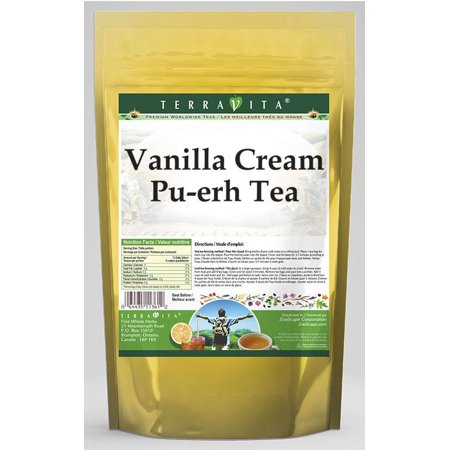 Vanilla Cream Pu-erh Tea (50 tea bags, ZIN: 531083) - 2-Pack Aged Pu Erh Tea