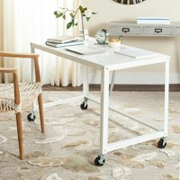 Safavieh Bentley Modern Glam Writing Desk with Casters
