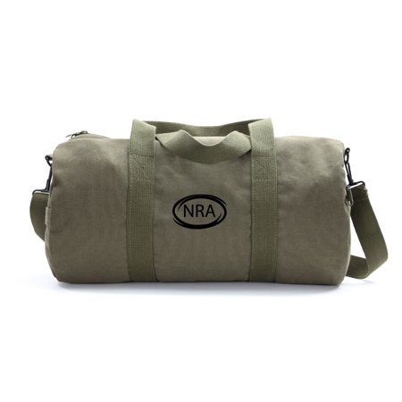 Nra National Association Army Sport Heavyweight Canvas Duffel Bag