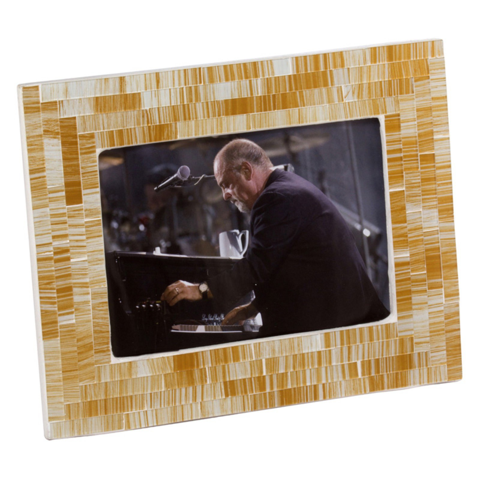 Modern Day Accents Oro Blanca Mosaic Photo Frame