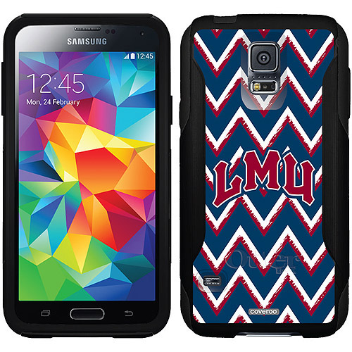 Loyola Marymount Sketchy Chevron Design on OtterBox Commuter Series Case for Samsung Galaxy S5
