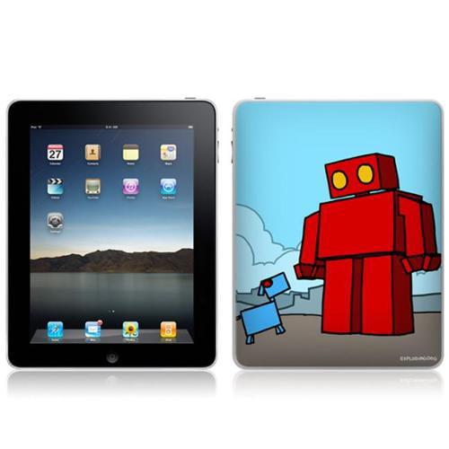 Zing Revolution MS-EXDG40051 iPad- Wi-Fi-Wi-Fi + 3G- EXPLODINGDOG- Red Robot Skin