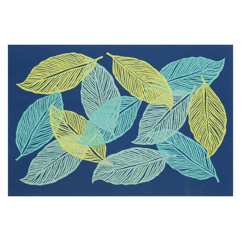 Liora Manne Visions III Mystic Leaf Doormat by Supplier Generic