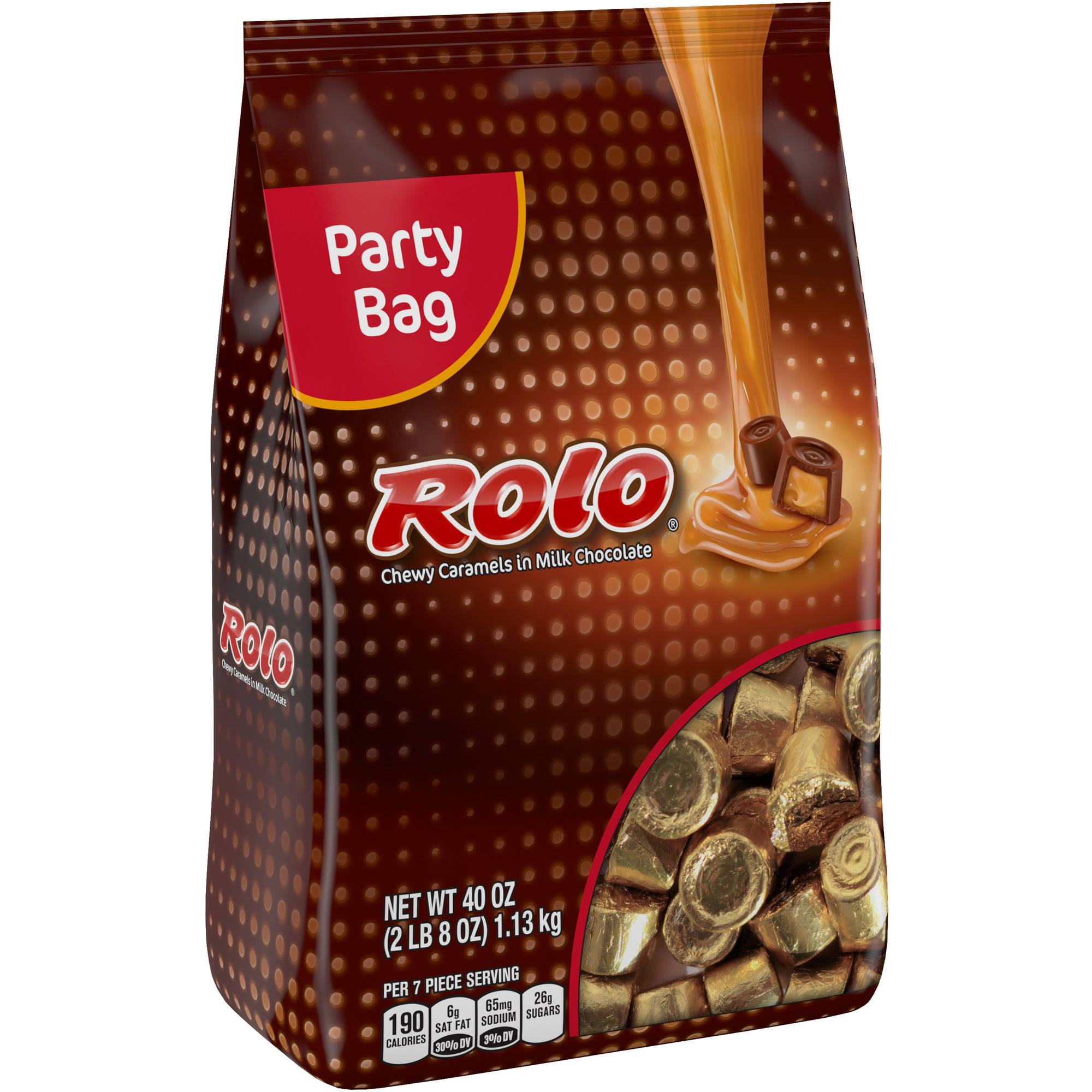 Rolo�� Chewy Caramels in Milk Chocolate Candy, 40 oz