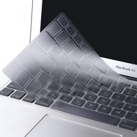 Mosiso Protective Keyboard Cover Skin for MacBook Air 11 Inch (Models: A1370 & A1465), Purple