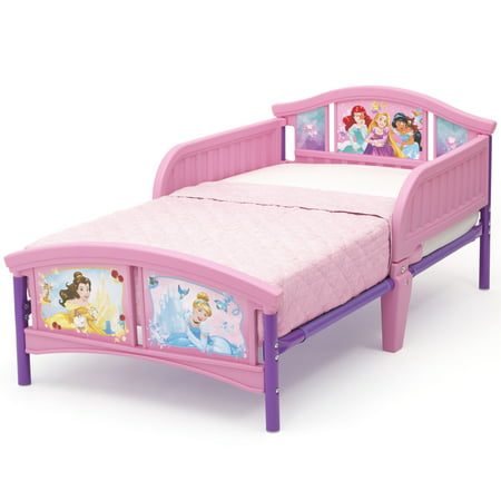 Disney Princess Plastic Toddler Bed by Delta Children, Forever Princess