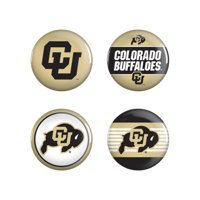 Colorado Buffaloes WinCraft 4-Pack Button Set