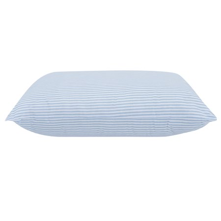 "Mainstays HUGE Pillow 20"" x 28"" in Blue and White Stripe"