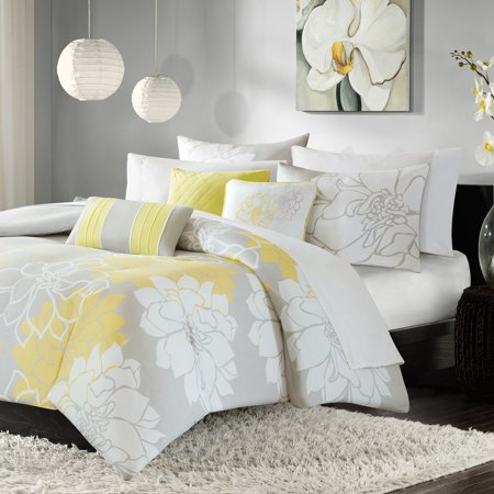 Home Essence Jane 6 Piece Cotton Duvet Cover Set