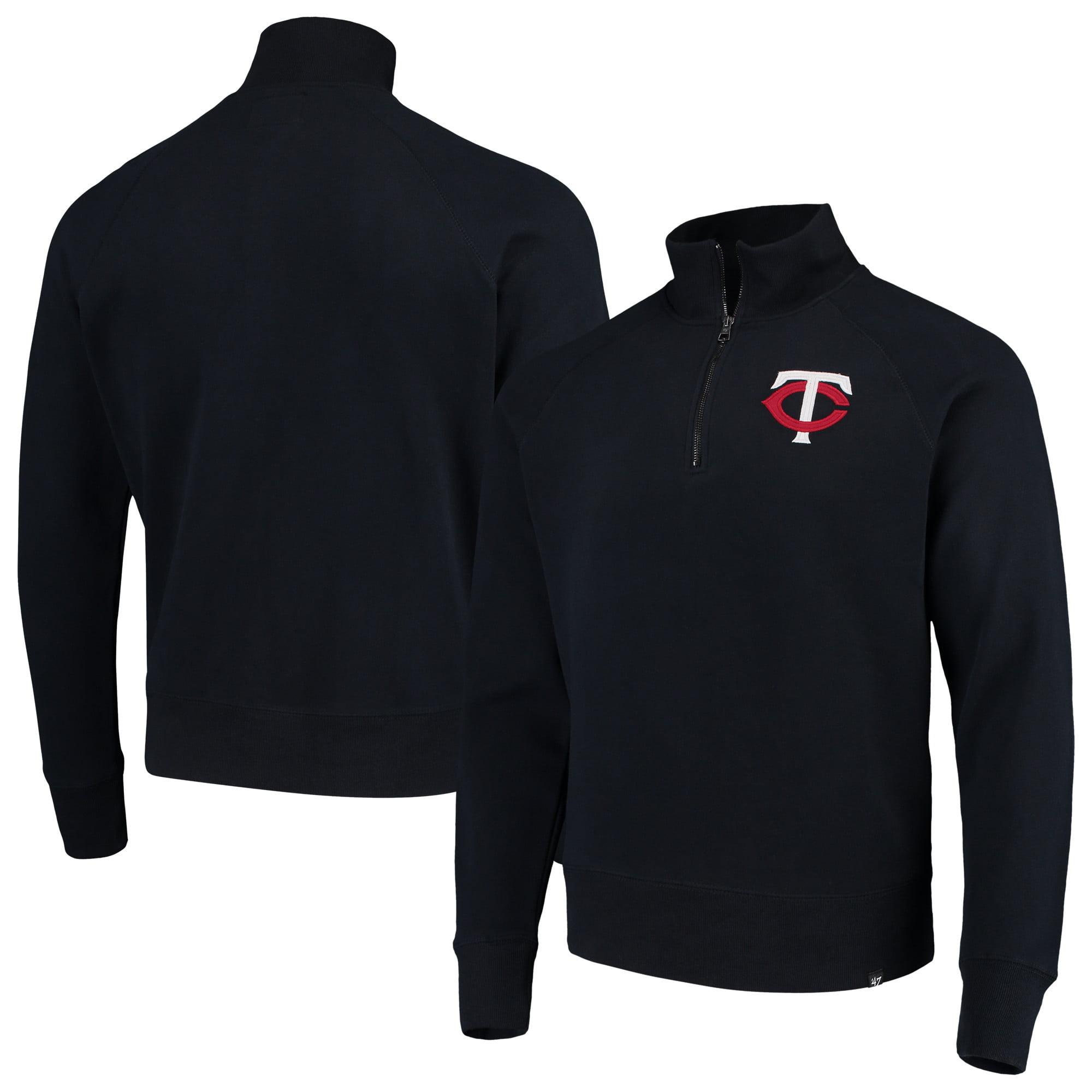 Minnesota Twins '47 MLB Headline Quarter-Zip Pullover Jacket - Navy